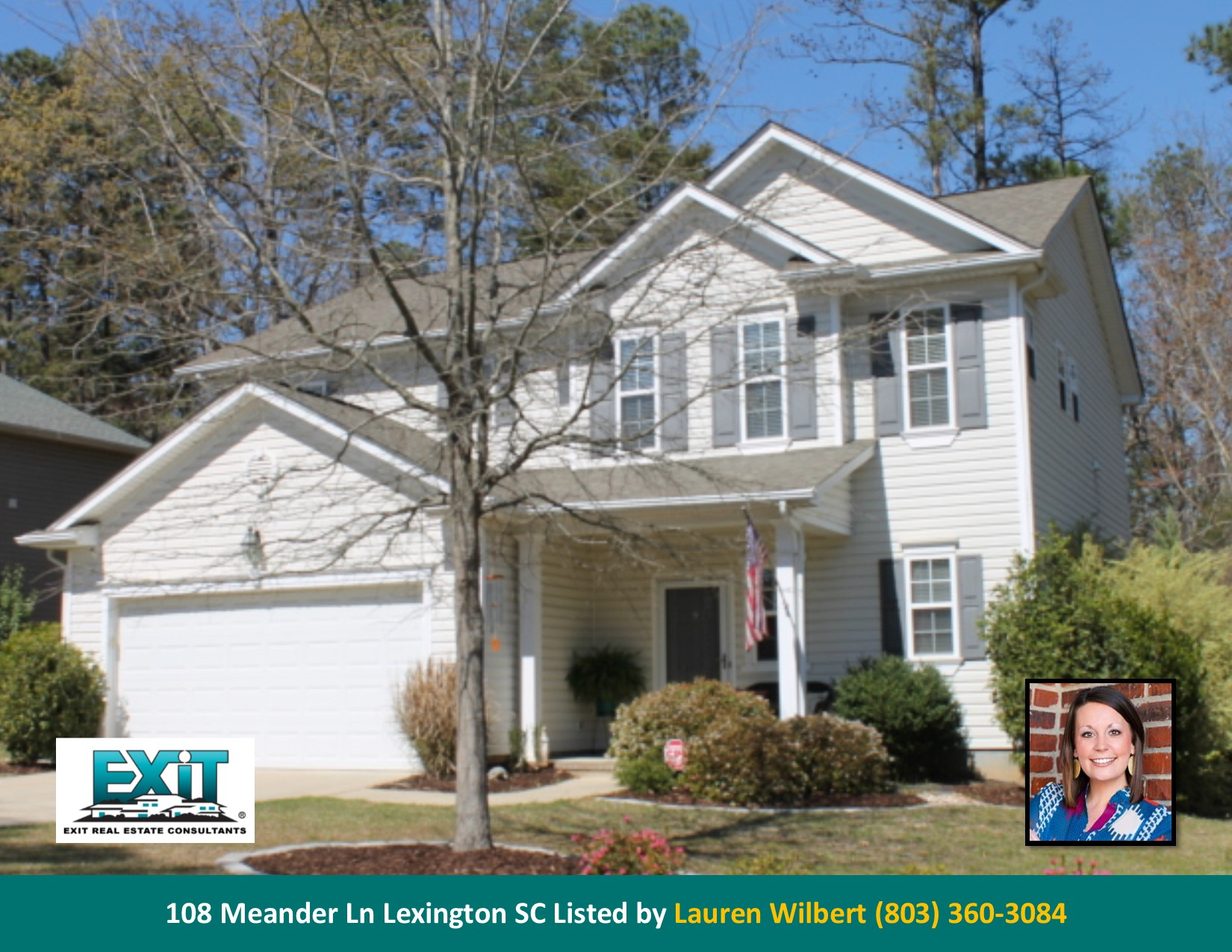 Just listed in millstream crossing for Lexington sc home builders