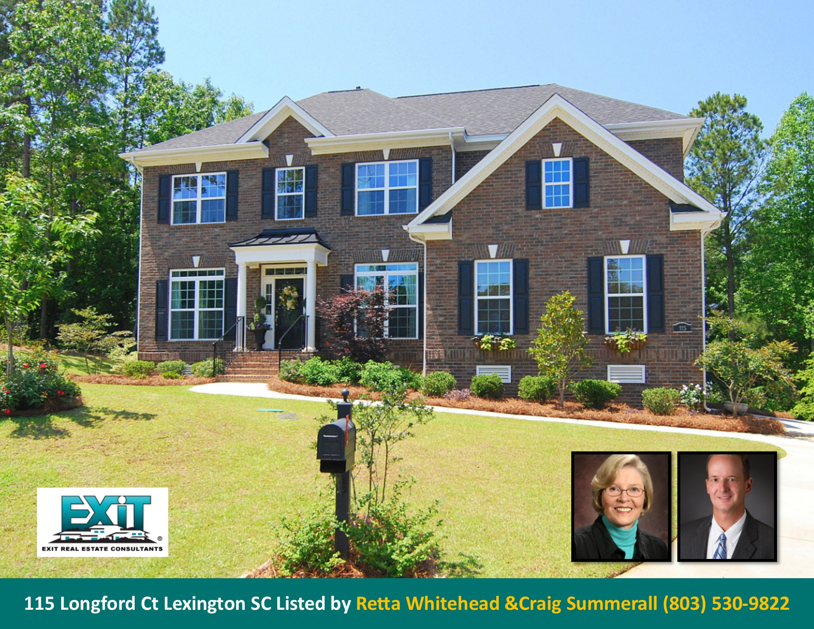 Just listed in kingston harbour for Lexington sc home builders