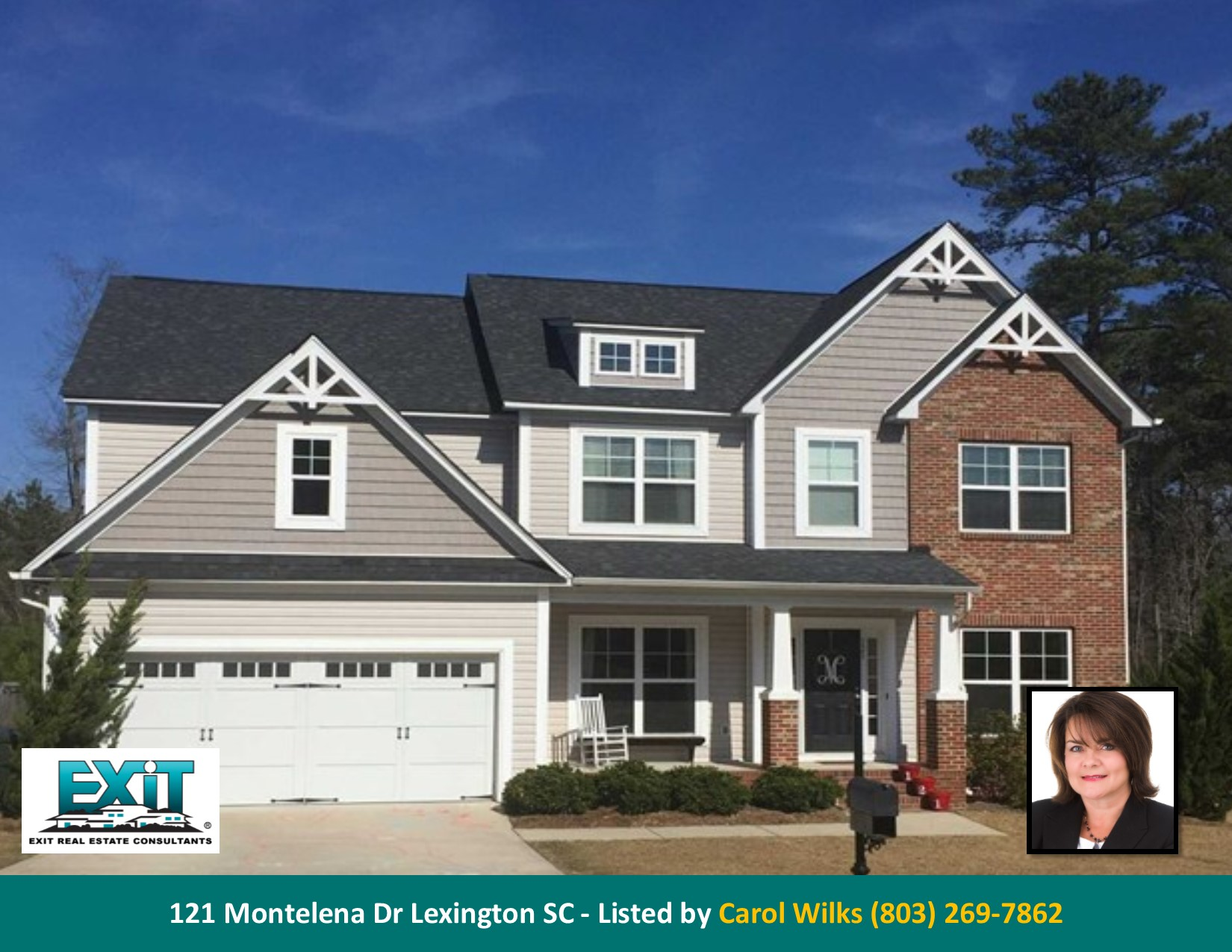 Just listed in vintners wood for Home builders lexington sc