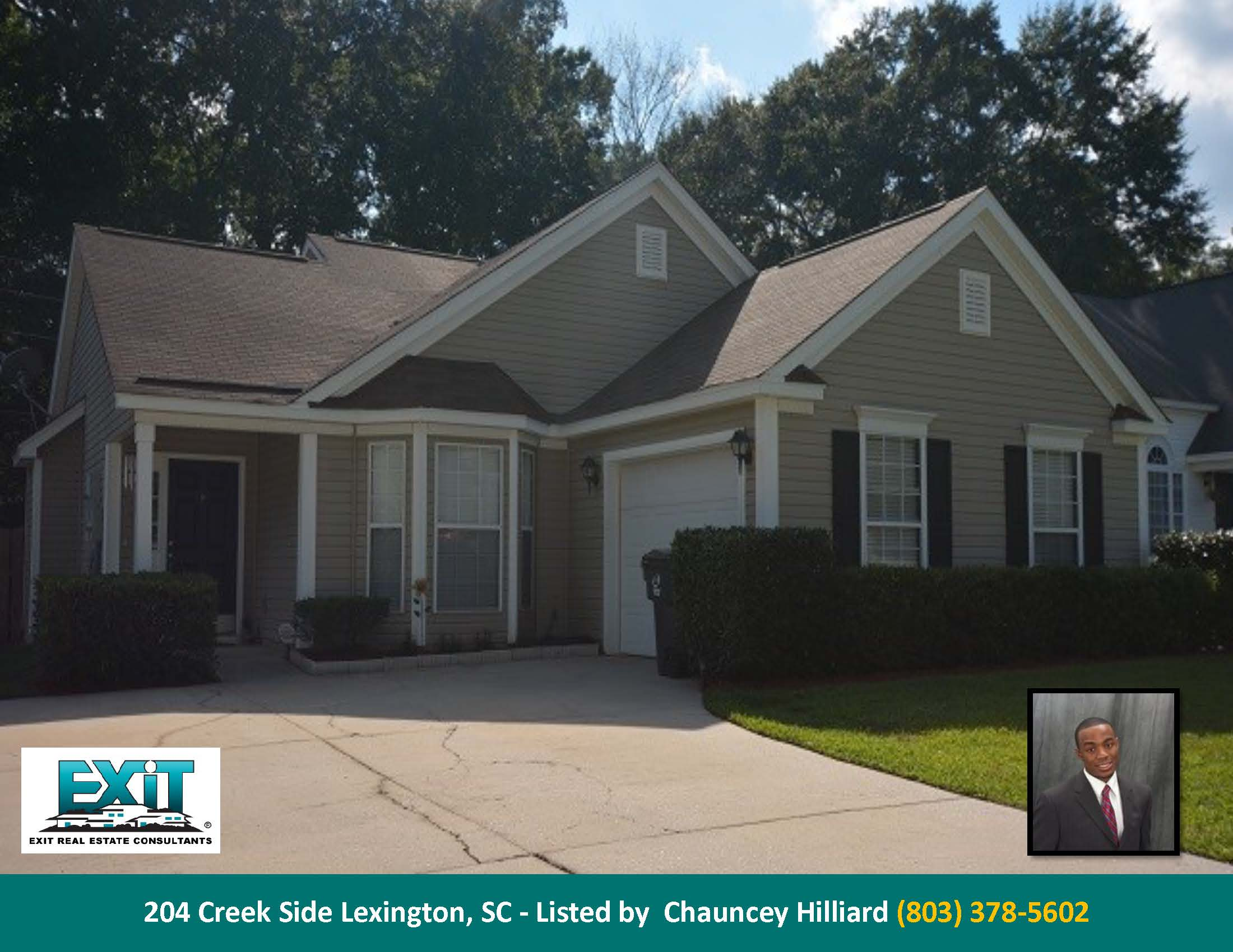 Just listed in creek side farms for Lexington sc home builders
