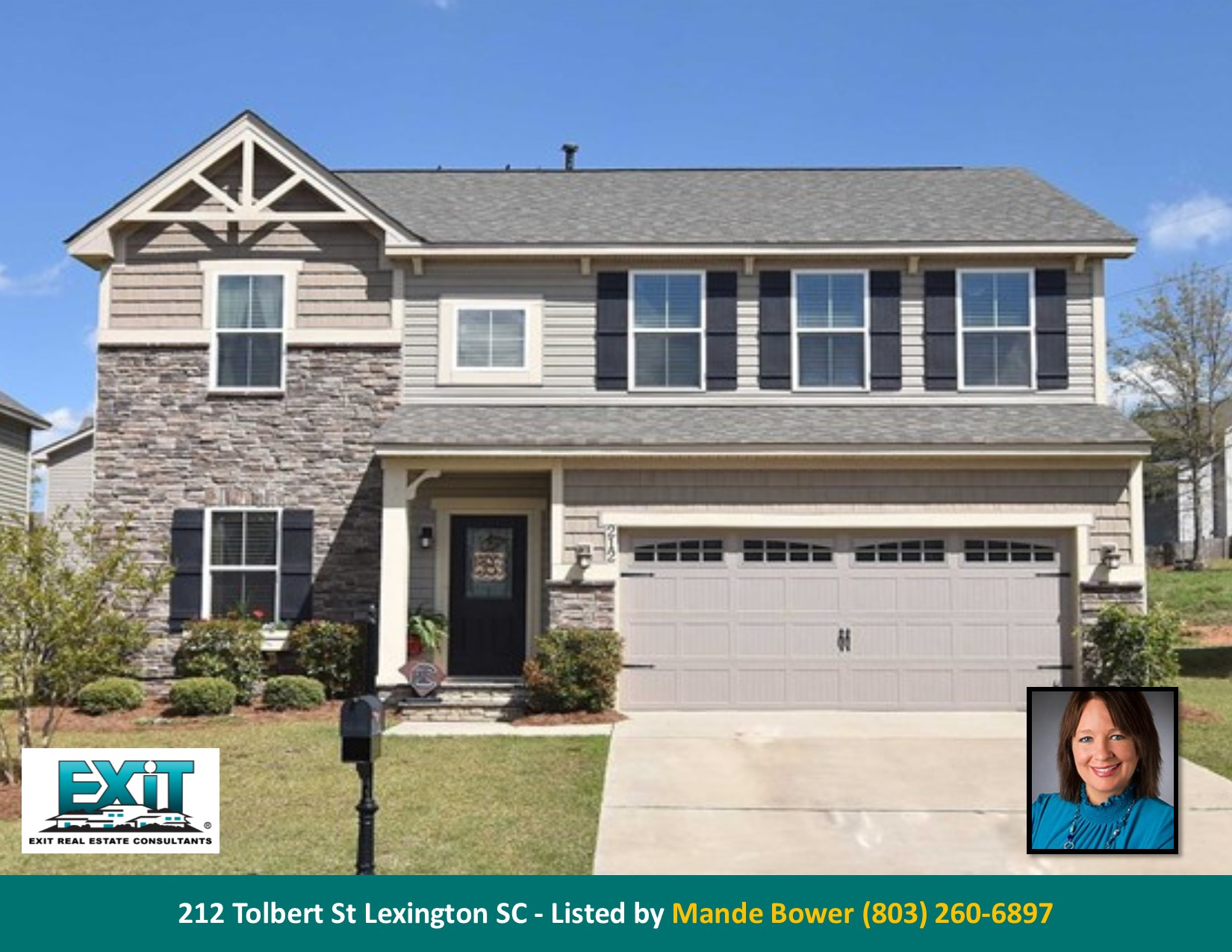 Just listed in wellesley for Lexington sc home builders