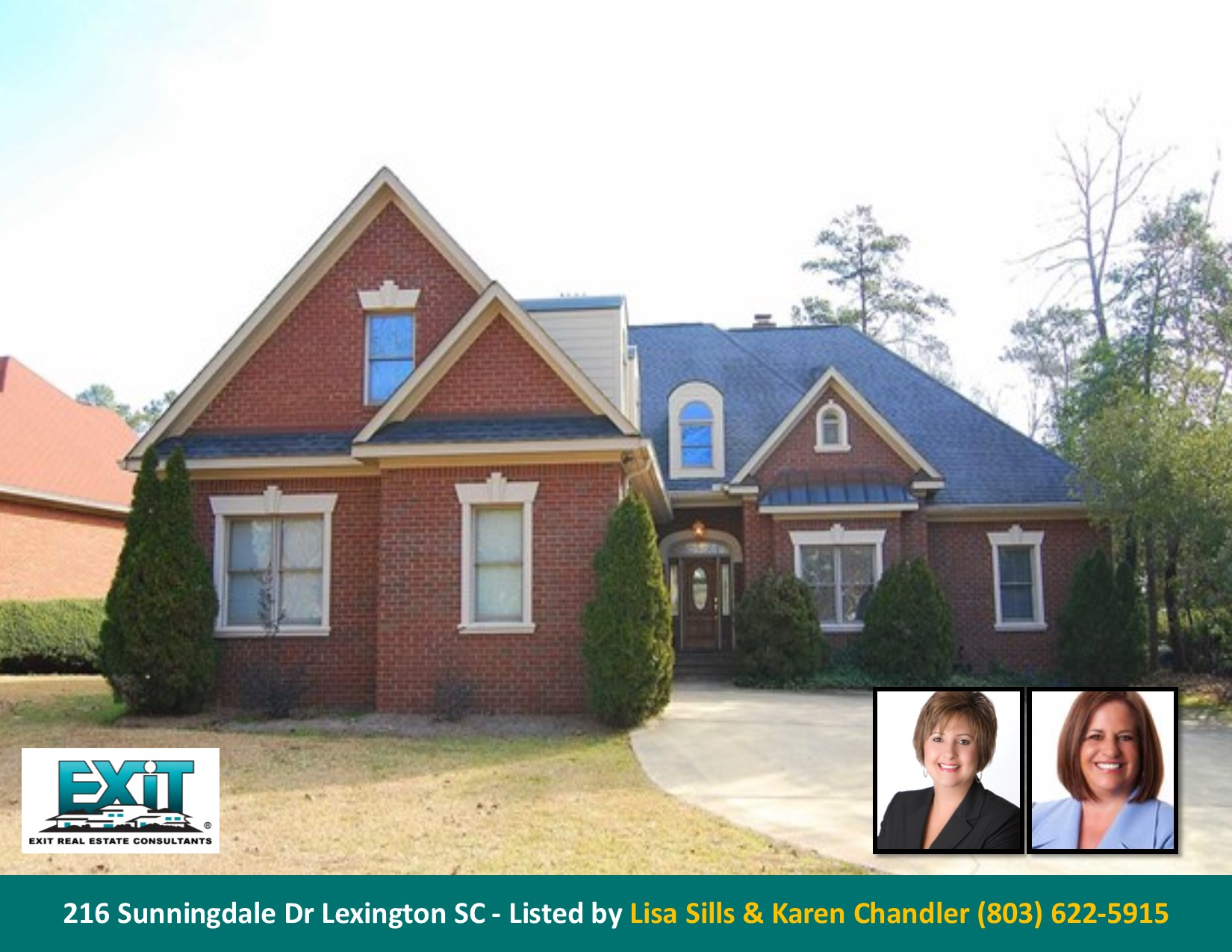 Just listed in golden hills for Lexington sc home builders