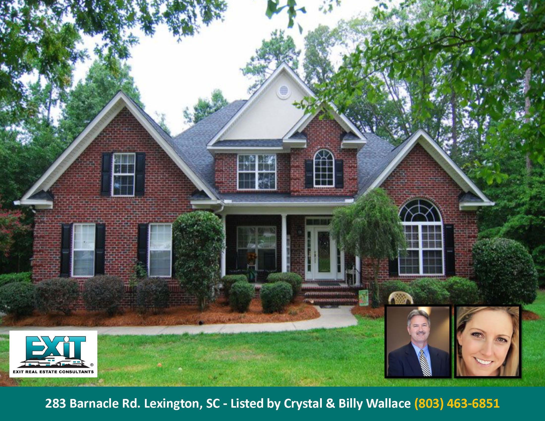 Just listed in barnacle point for Lexington sc home builders