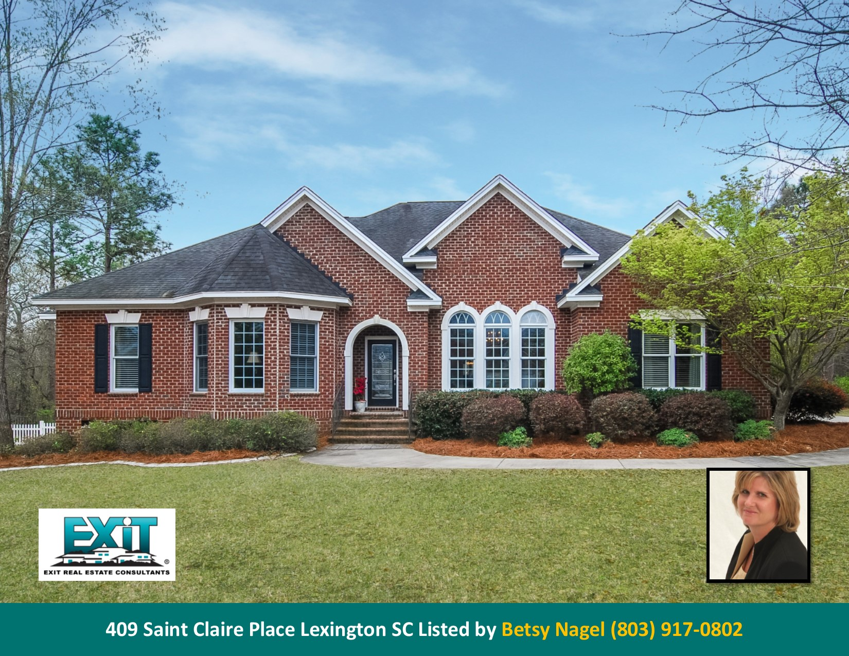 Just listed in beauclaire for Lexington sc home builders